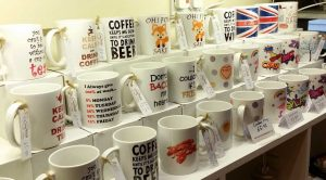 Personalised Mugs printed Suffolk Craft Shop