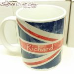 Personalised Union Jack Mug