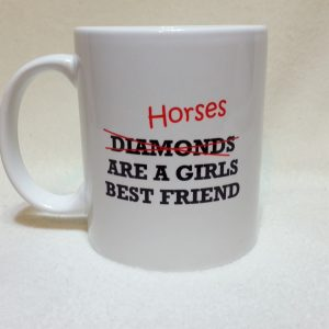 Funny Horse Slogan Mug