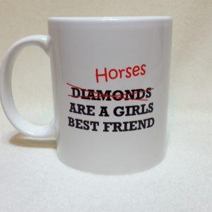 Funny Horse Slogan Mug