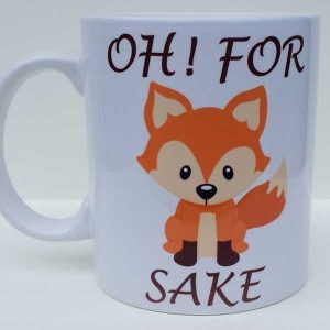 For FOX Sake Mug Suffolk