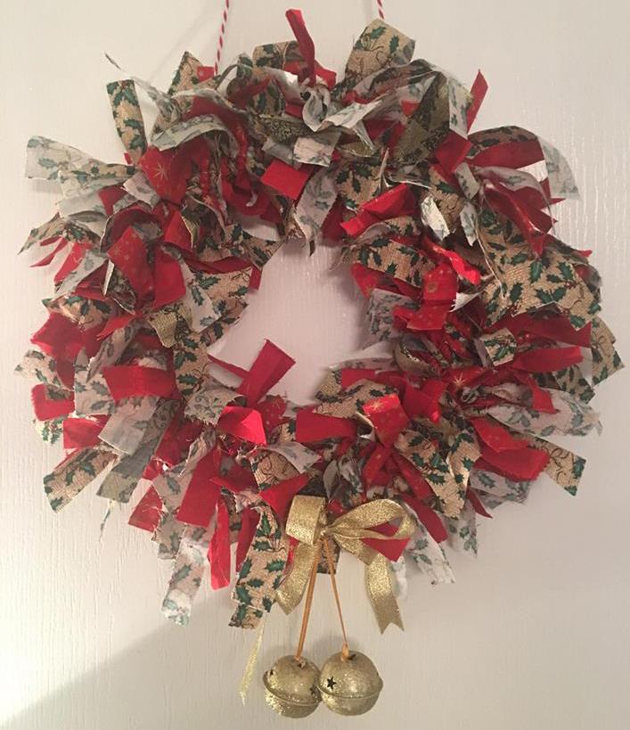 Rag Wreath Workshop Suffolk