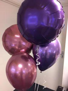 Helium Balloon Cluster